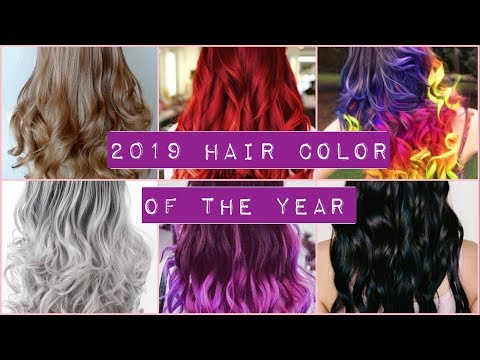 2019 Hair Color of the Year  What is Trending?