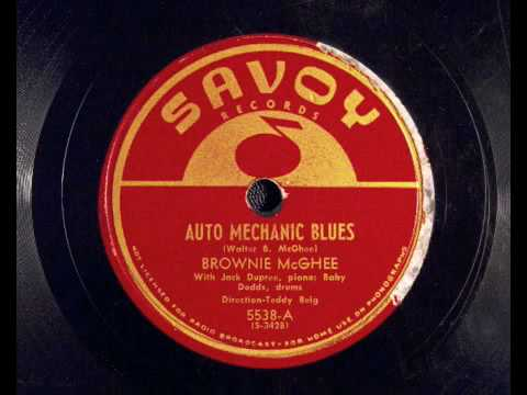 Auto Mechanics Blues – Brownie McGhee