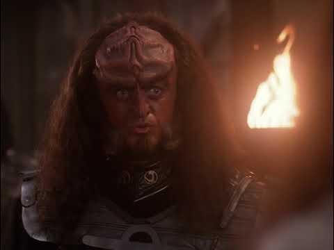 "Star Trek TNG | Gowron ""What color were his eyes"""
