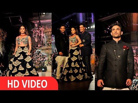 Shraddha Kapoor | Sushant Singh Rajput | Walk Ramp For Designer | Manish Malhotra | UNCUT