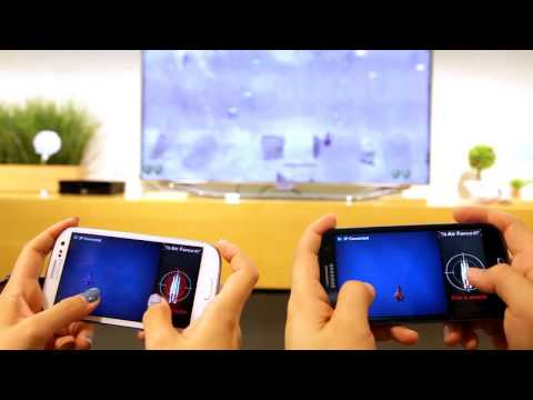 Video of AirForce for SamSung SmartTV