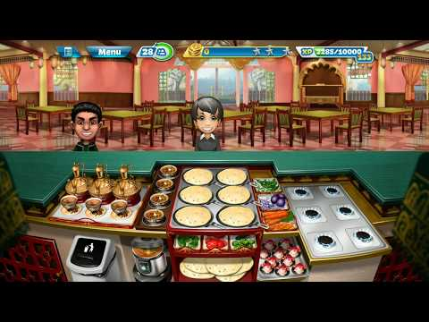 [Cooking Fever] Fully Upgraded Indian Diner Level 40 (3 Stars)