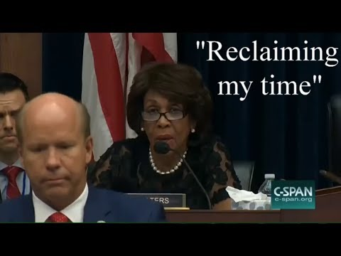 Rep. Maxine Waters Is Reclaiming Her Time