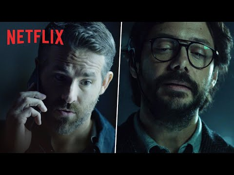 Ryan Reynolds Meets The Professor | 6 Underground x Money Heist | Netflix India