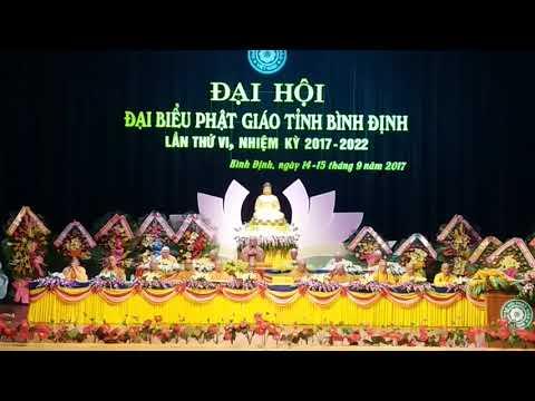 Đạo từ Đại hội đại biểu Phật giáo tỉnh Bình Định lần thứ VI 2017 - 2022