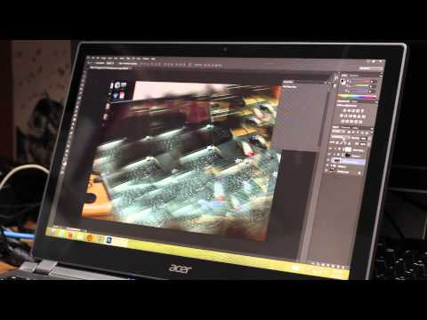 Acer Aspire v7 - Haswell Ultrabook - Unboxing, Performance and Gaming Test