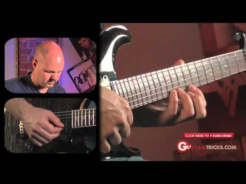 Santana Guitar Lesson – Santana Lick in C Minor – Guitar Tricks Channel 95 – easy guitar lesson
