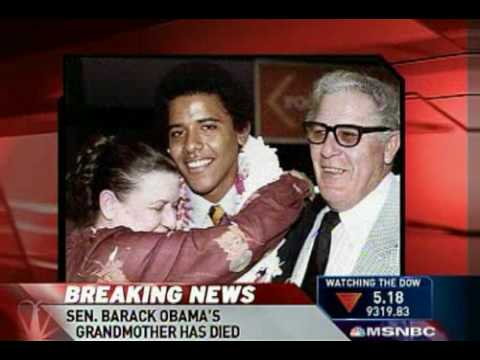 Barack Obama 's grandmother has died