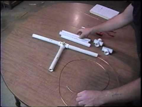 2 Meter Quad PVC Pipe Antenna (Part 5/6)