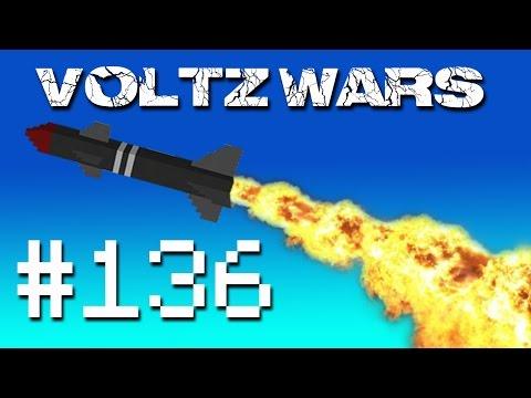 Minecraft Voltz Wars - Missile Fuel! #136