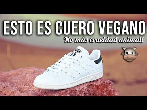 Esto es Cuero Vegano - Moda sostenible de Adidas con Stella McCartney y Stan Smith видео
