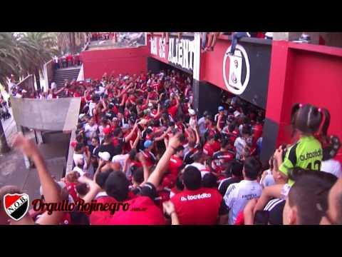 Previa de la hinchada. Newell's 1 - 0 Atlético Rafaela. OrgulloRojinegro.com.ar - La Hinchada Más Popular - Newell's Old Boys