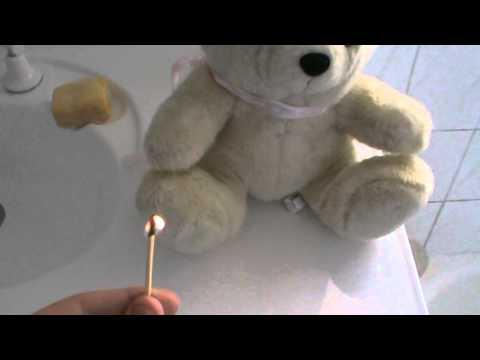 How To Light a Teddy Bear On Fire