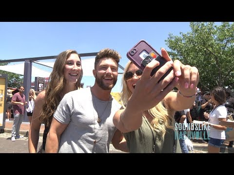 Inside CMA Fest with Chris Lane