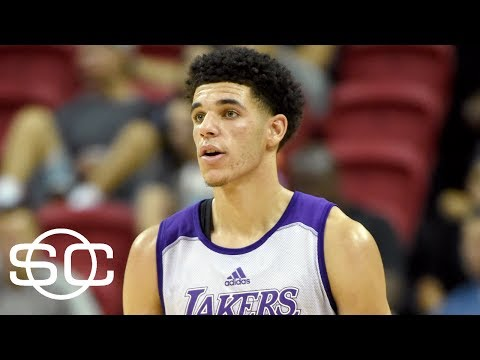 Lonzo Ball Reacts To LeBron James Watching Him Play  SportsCenter  ESPN