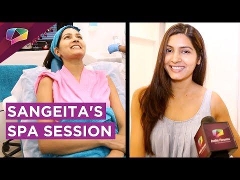 Sangeita Chauhan aka Meghna's Relaxing Spa Session