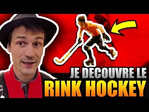 JE DECOUVRE LE RINK HOCKEY