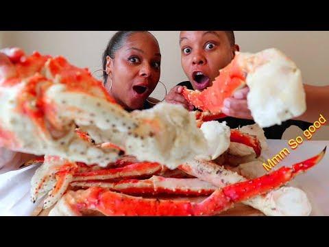 King Crab Seafood Boil Mukbang ( Huge King Crab Legs ) - Thời lượng: 24 phút.