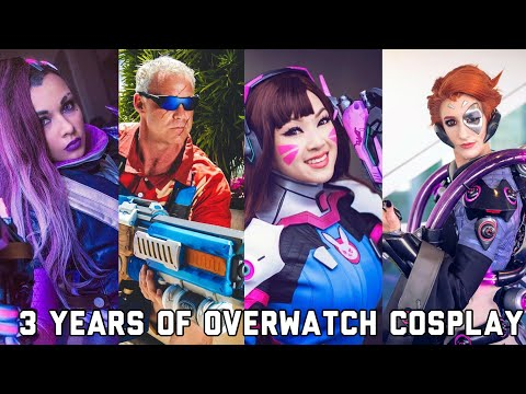 3 Years of Overwatch Cosplay