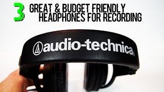 Video 3 Great & Budget Friendly Headphones For Recording MP3, 3GP, MP4, WEBM, AVI, FLV Agustus 2018