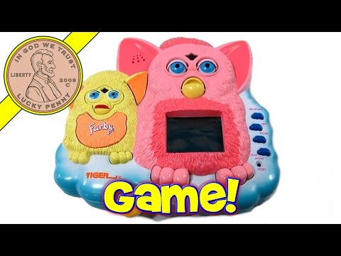 Furby Handheld Game, 2000 Tiger Electronics – Rare & HTF