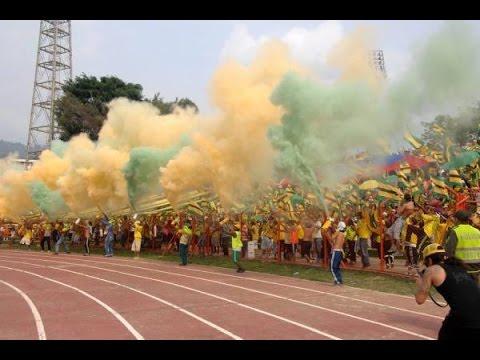 Himno de santander, Atletico Bucaramanga vs quindio, Fortaleza leoparda sur 2014 - Fortaleza Leoparda Sur - Atlético Bucaramanga
