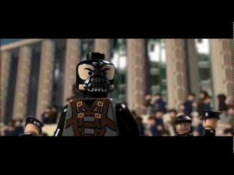 The Dark Knight Rises - Lego Trailer