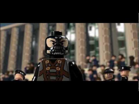 你沒看過的黑暗騎士!LEGO版!