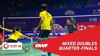 Video QF | XD | TANG/TSE (HKG) [4] vs KARANDASUWARDI/SUSANTO (INA) | BWF 2018 MP3, 3GP, MP4, WEBM, AVI, FLV September 2018