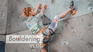 Jain Kim Shows Perfect Climbing Technique by Bouldering Vlog