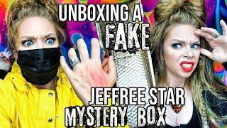 Unboxing A FAKE Jeffree Star Cosmetics Holiday MYSTERY BOX?! by GRAV3YARDGIRL