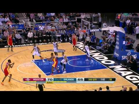 NBA Highlights: Rockets @ Magic 3/5/2014