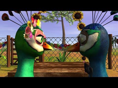 El Pavo y la Pava - Canciones Infantiles (Riki Maravilla)