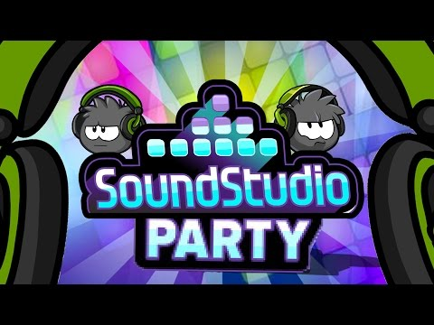 Club Penguin: Sound Studio Party 2015