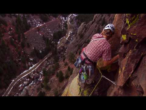 Blind Climber Climbs His Most Difficult Route