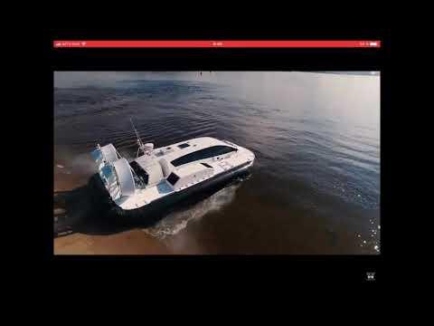 Заложено первое судно навоздушной подушке «Манул»