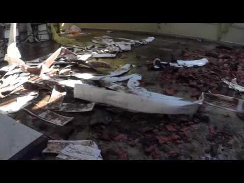 Um dia muito Triste para Juquitiba não mais esquecer.....fogo na Escola Raízes do Pau Brasil