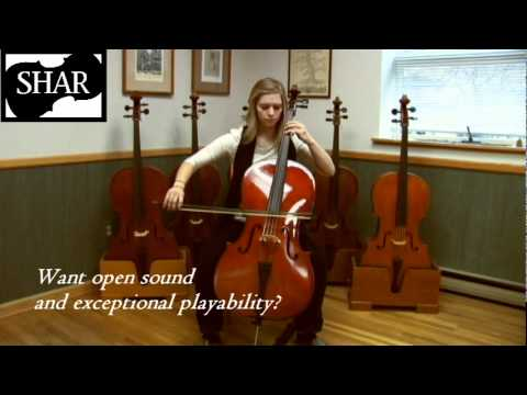 Video - Blemished Franz Hoffmann® Amadeus Laminate Cello - Instrument Only - 4/4 size | BPC10044