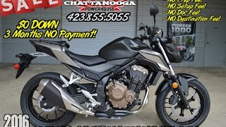 5. 2016 CB500F Review of Specs / Changes - For Sale @ Honda of Chattanooga TN - Naked CBR Sport Bike