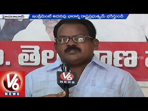 Telangana Government announces Special increment to RTC employees 25042015