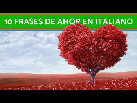 Frases celebres - Las 10 mejores FRASES de AMOR en ITALIANO - Lista ACTUALIZADA!!!