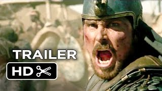 Nonton Exodus  Gods And Kings Official Trailer  2  2014    Christian Bale  Aaron Paul Movie Hd Film Subtitle Indonesia Streaming Movie Download