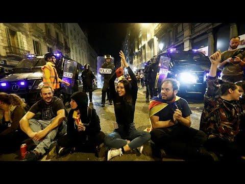 Βαρκελώνη: Νύχτα βίαιων συγκρούσεων