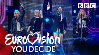 Video Måns Zelmerlöw recreates the UK's greatest Eurovision moments! - BBC MP3, 3GP, MP4, WEBM, AVI, FLV Februari 2019