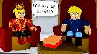 The Prince Had A Poor Twin Brother...  Roblox Royale High Roleplay