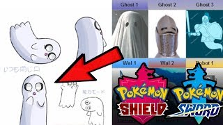 NEW GHOST POKEMON LEAK?! Pokemon Sword and Shield Leaked Concept Art by Verlisify