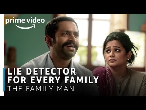 Lie Detector for Every Family | The Family Man | Manoj Bajpayee, Sharib Hashmi, Priyamani