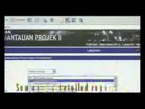 Sistem Pemantauan Projek II
