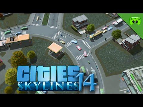 CITIES SKYLINES # 14 - Der perfekte Kreisverkehr «» Let's Play Cities Skylines | HD60