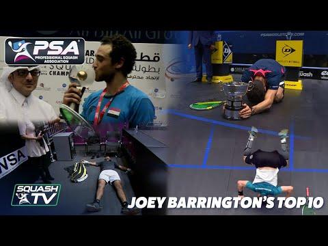 Squash: Joey Barrington's Top 10 Men's Matches